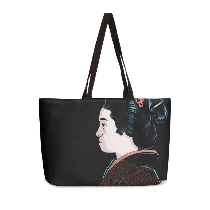 Waves Accessories Weekender Bag Bag by Huevart's Artist Shop