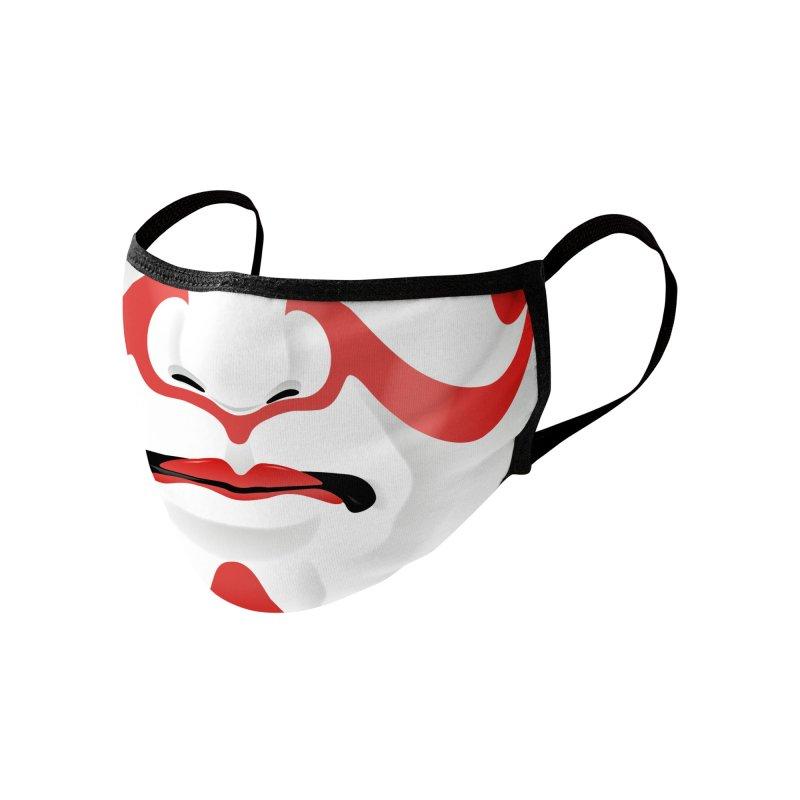 Kabuki Mask Accessories Face Mask by Huevart's Artist Shop
