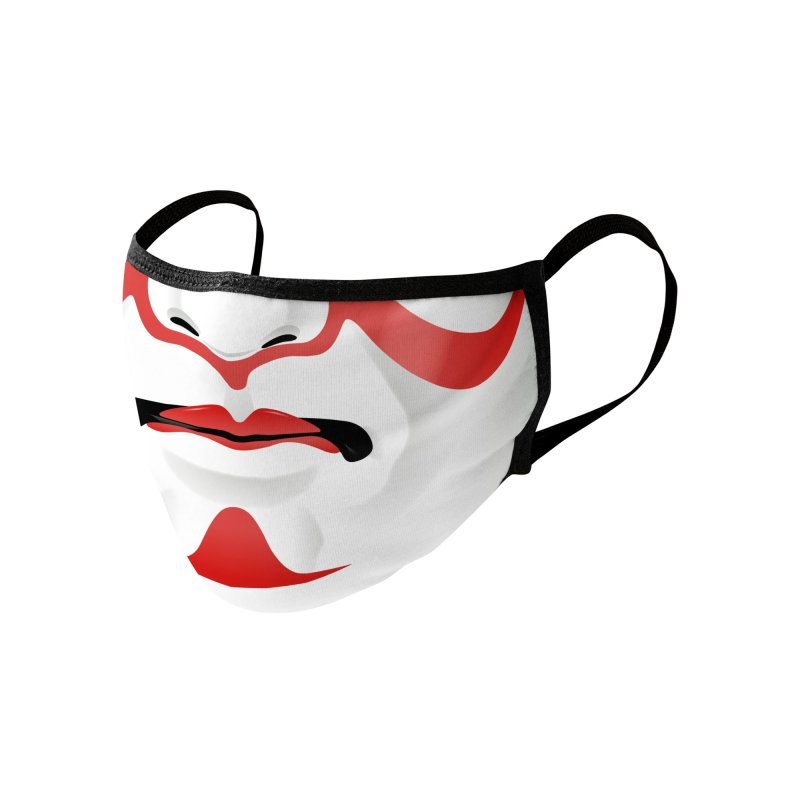 Kabuki Mask Accessories Face Mask by Huevart's Artist Shop