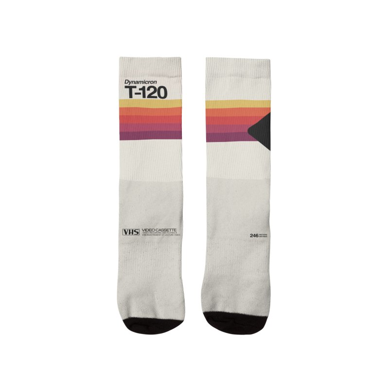 VHS T-120 Men's Socks by Huevart's Artist Shop