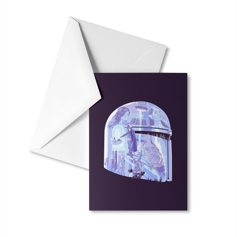 This is the Way Accessories Greeting Card by Huevart's Artist Shop