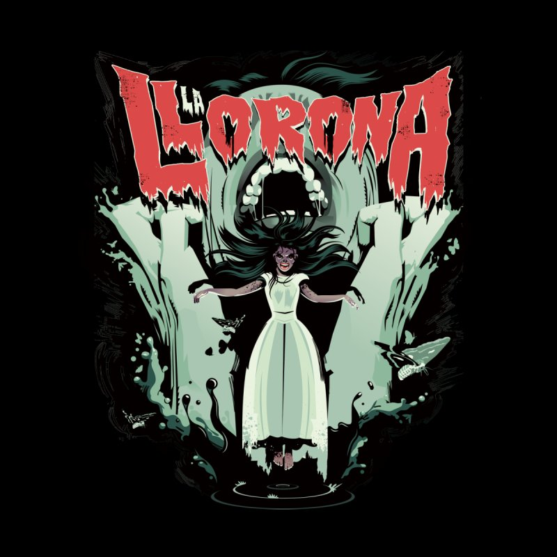La Llorona Women's T-Shirt by Huevart's Artist Shop