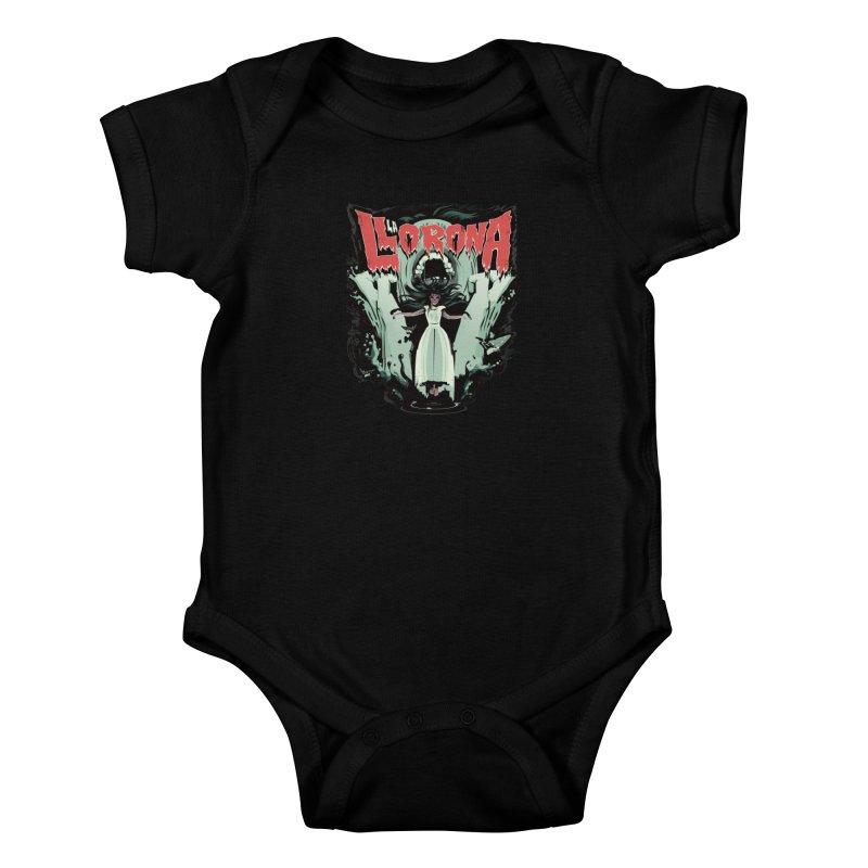 La Llorona Kids Baby Bodysuit by Huevart's Artist Shop