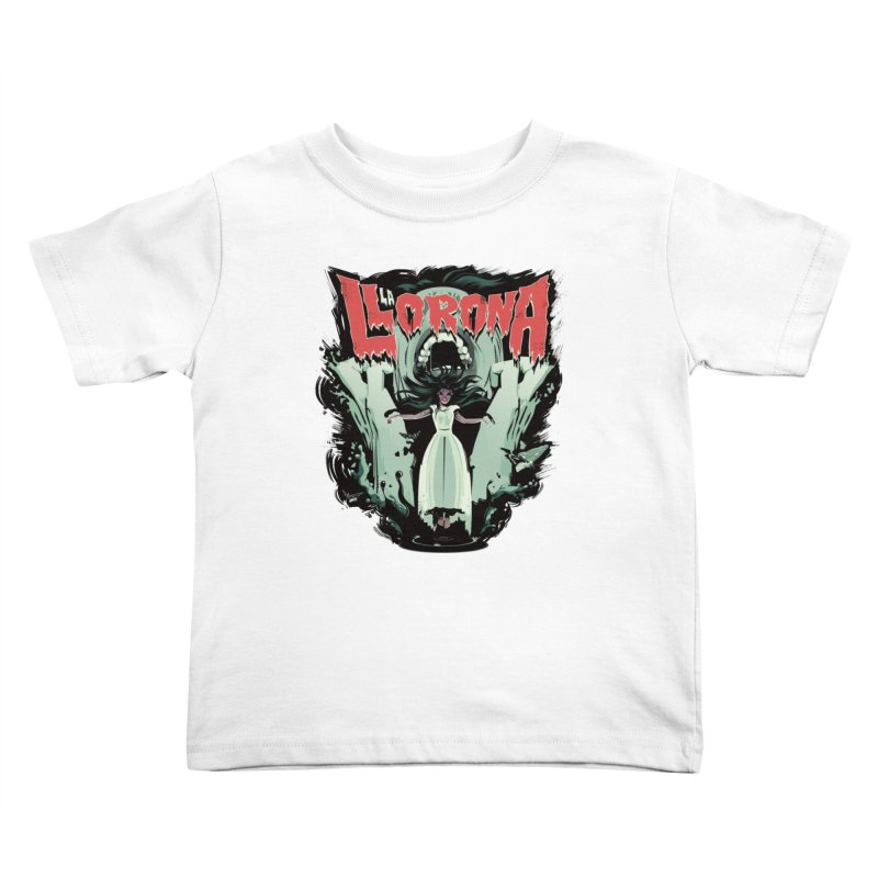 La Llorona Kids Toddler T-Shirt by Huevart's Artist Shop