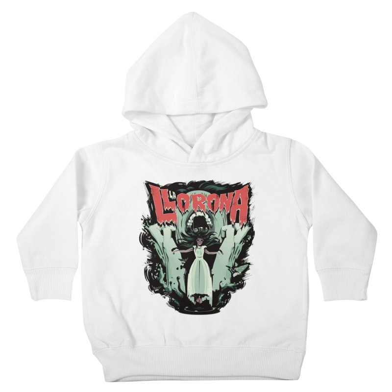La Llorona Kids Toddler Pullover Hoody by Huevart's Artist Shop