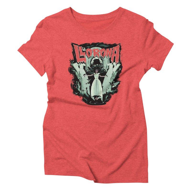 La Llorona Women's Triblend T-Shirt by Huevart's Artist Shop
