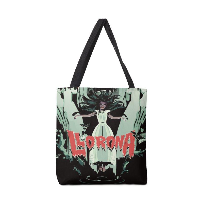 La Llorona Accessories Bag by Huevart's Artist Shop