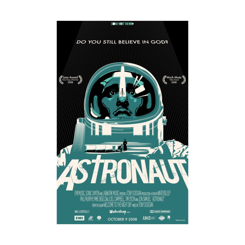 The Astronaut by Huevart's Artist Shop