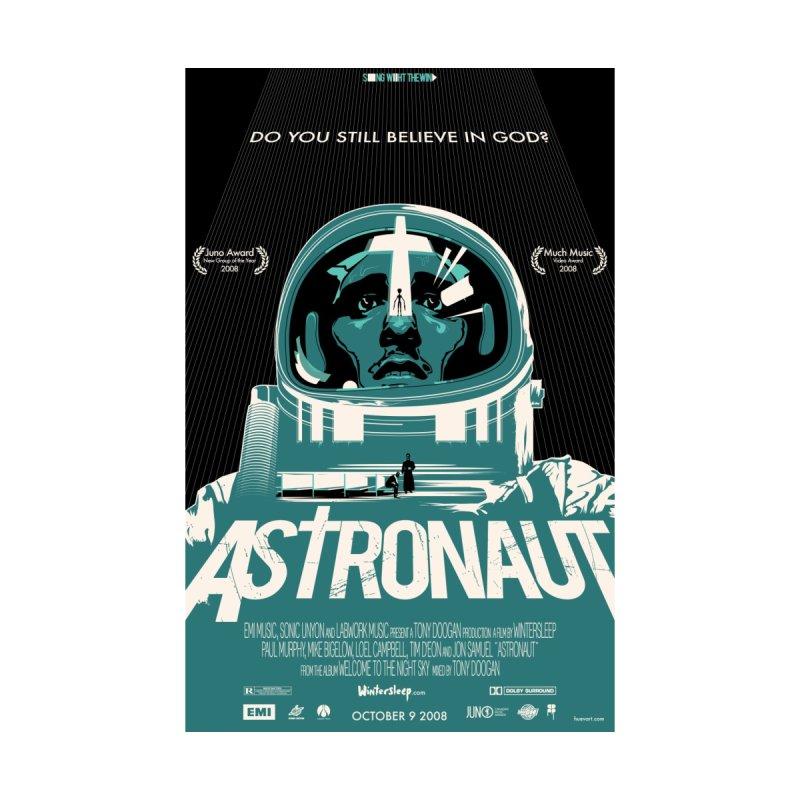 The Astronaut Women's T-Shirt by Huevart's Artist Shop