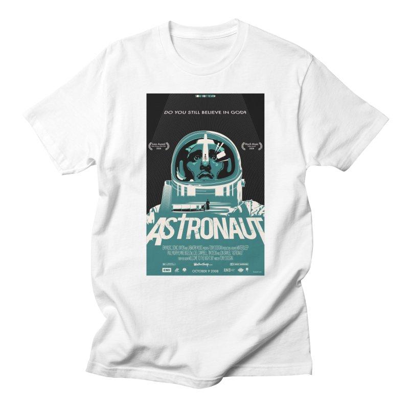 The Astronaut Women's Regular Unisex T-Shirt by Huevart's Artist Shop