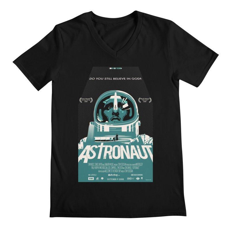 The Astronaut Men's Regular V-Neck by Huevart's Artist Shop