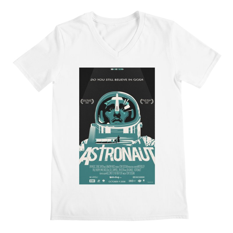 The Astronaut Men's V-Neck by Huevart's Artist Shop