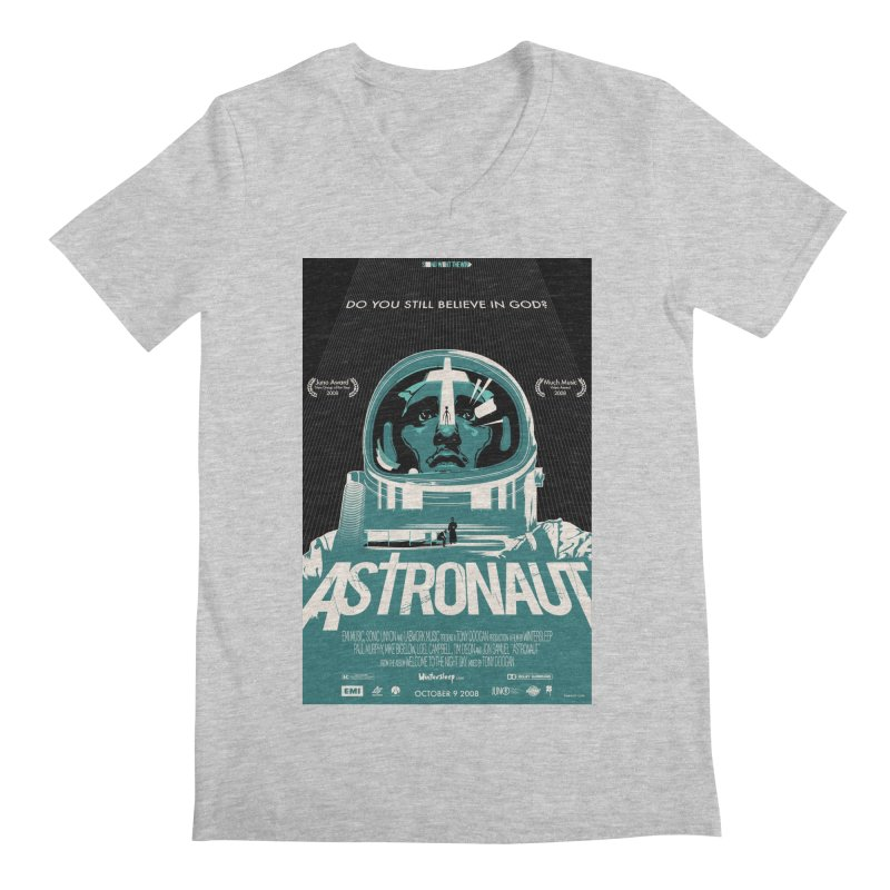The Astronaut Men's V-Neck by Huevart's Artist Shop