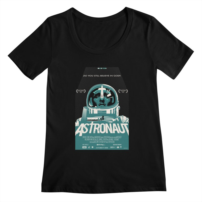 The Astronaut Women's Scoopneck by Huevart's Artist Shop