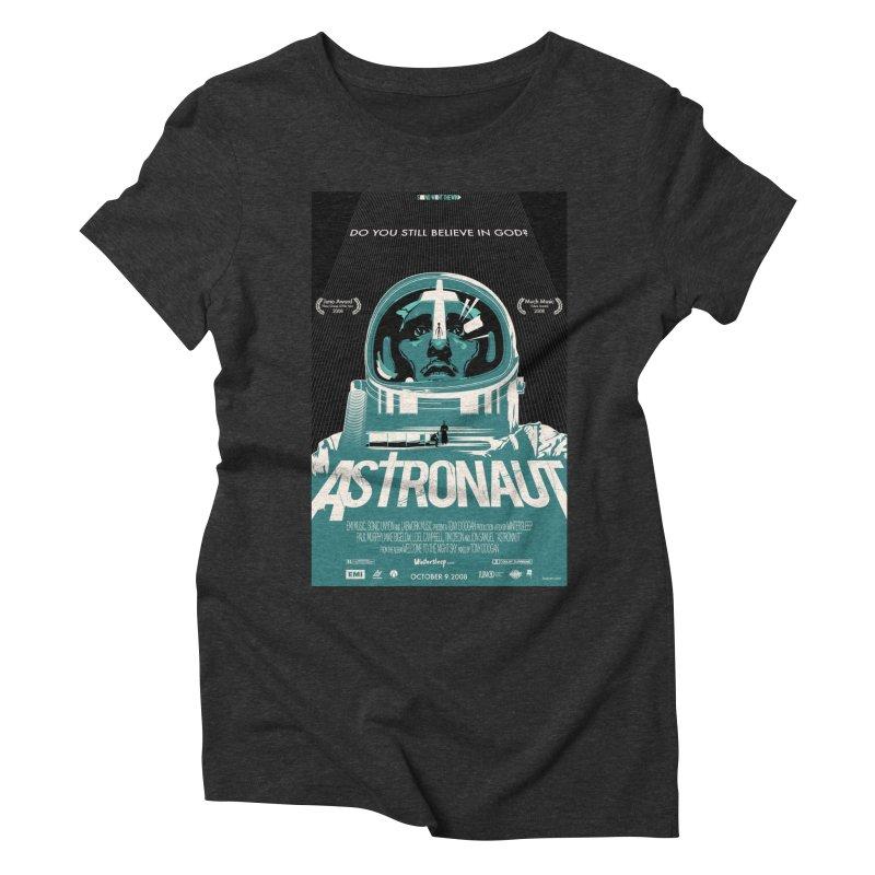 The Astronaut Women's Triblend T-Shirt by Huevart's Artist Shop