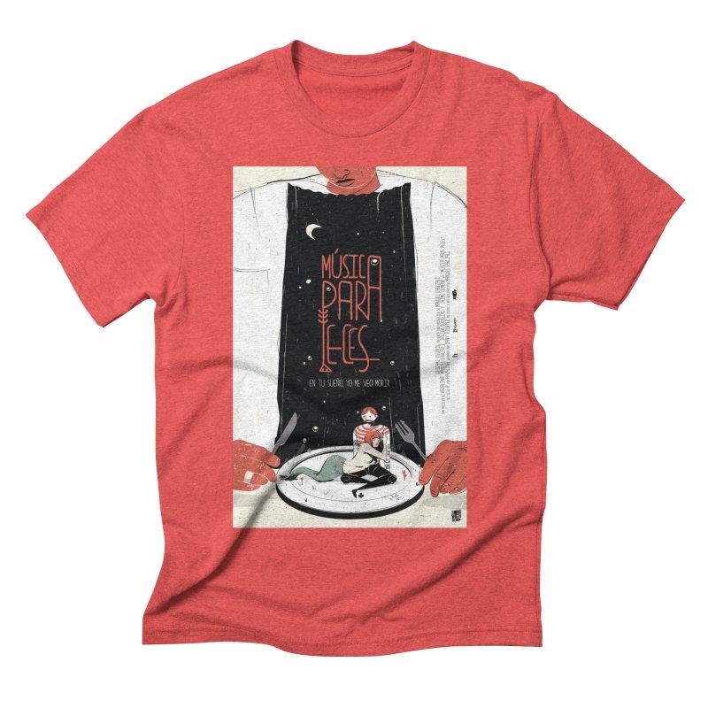 Music for Fish Men's Triblend T-shirt by Huevart's Artist Shop
