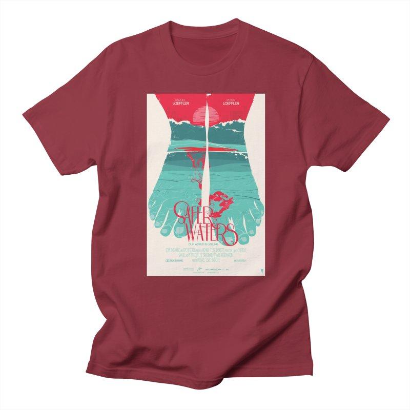 Safer Waters Women's Regular Unisex T-Shirt by Huevart's Artist Shop
