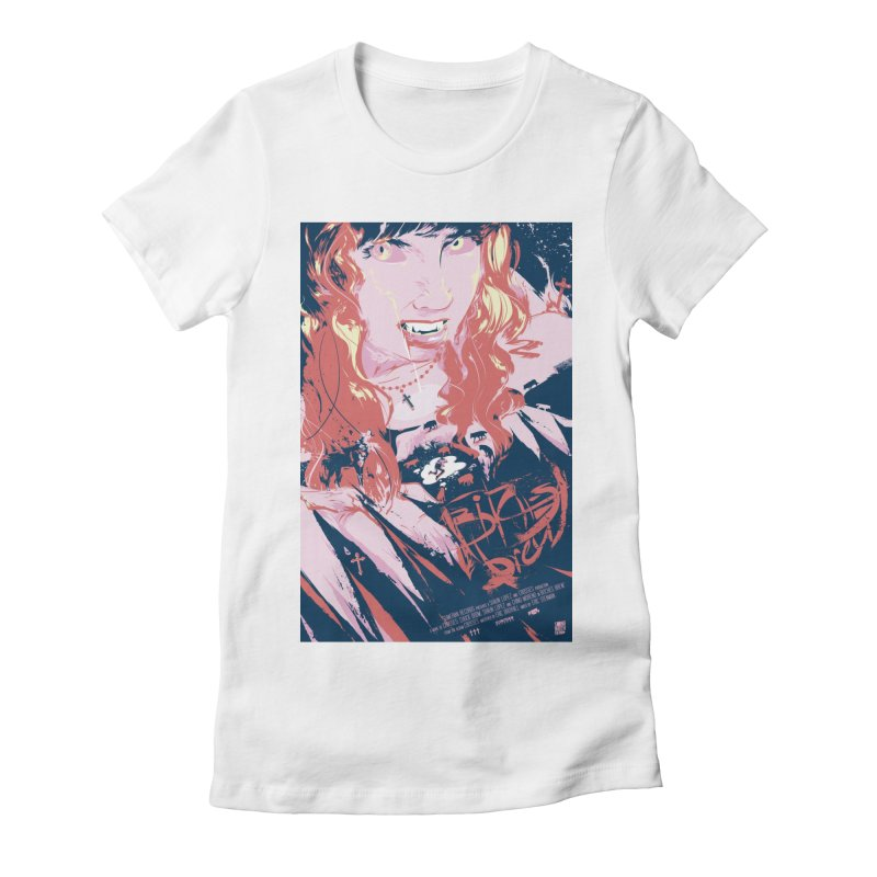 Bitches Brew Women's Fitted T-Shirt by Huevart's Artist Shop