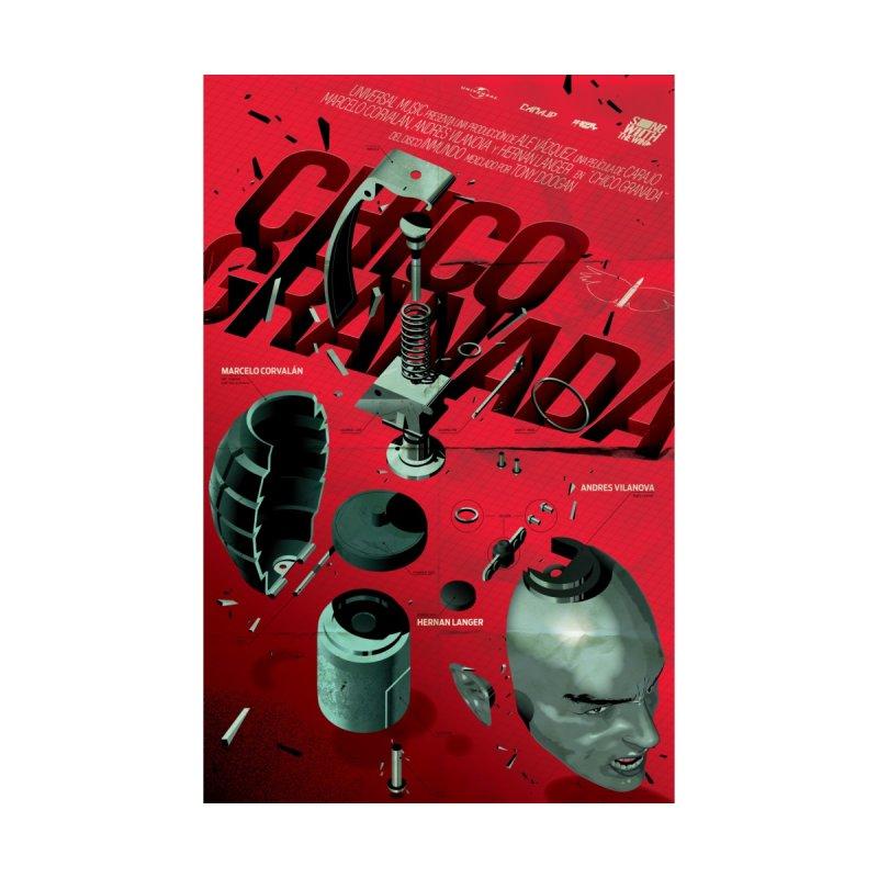 Grenade Boy by Huevart's Artist Shop
