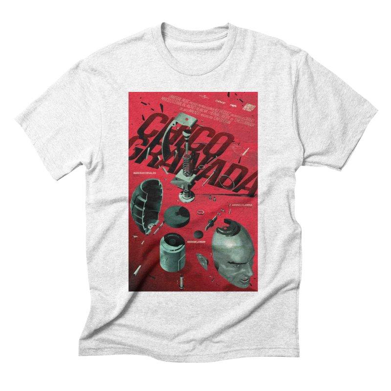 Grenade Boy Men's Triblend T-shirt by Huevart's Artist Shop
