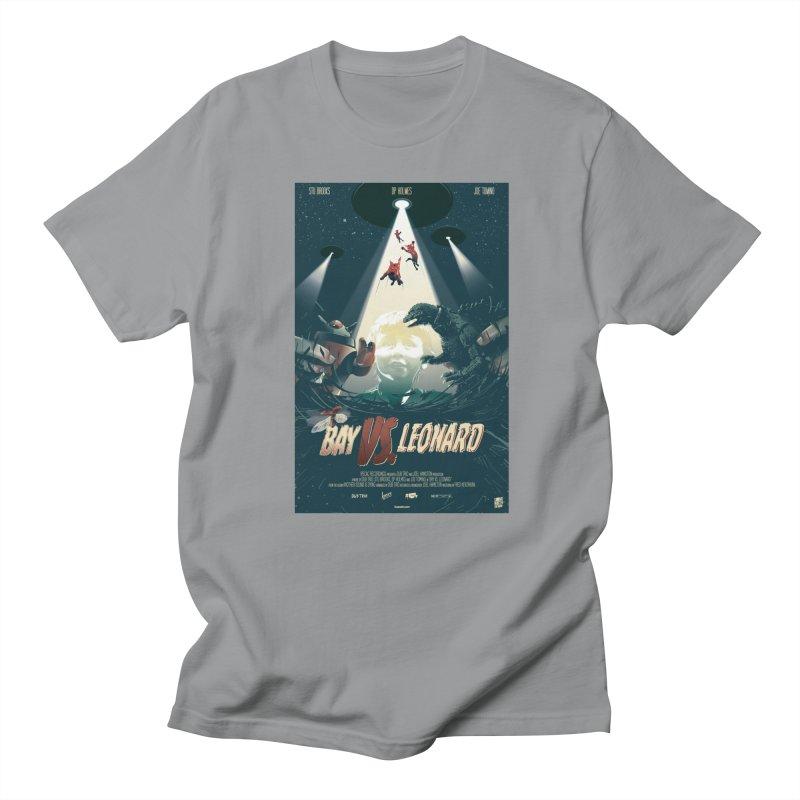Bay VS Leonard Men's Regular T-Shirt by Huevart's Artist Shop