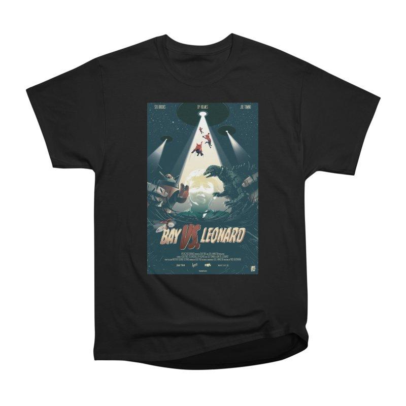 Bay VS Leonard Men's Heavyweight T-Shirt by Huevart's Artist Shop