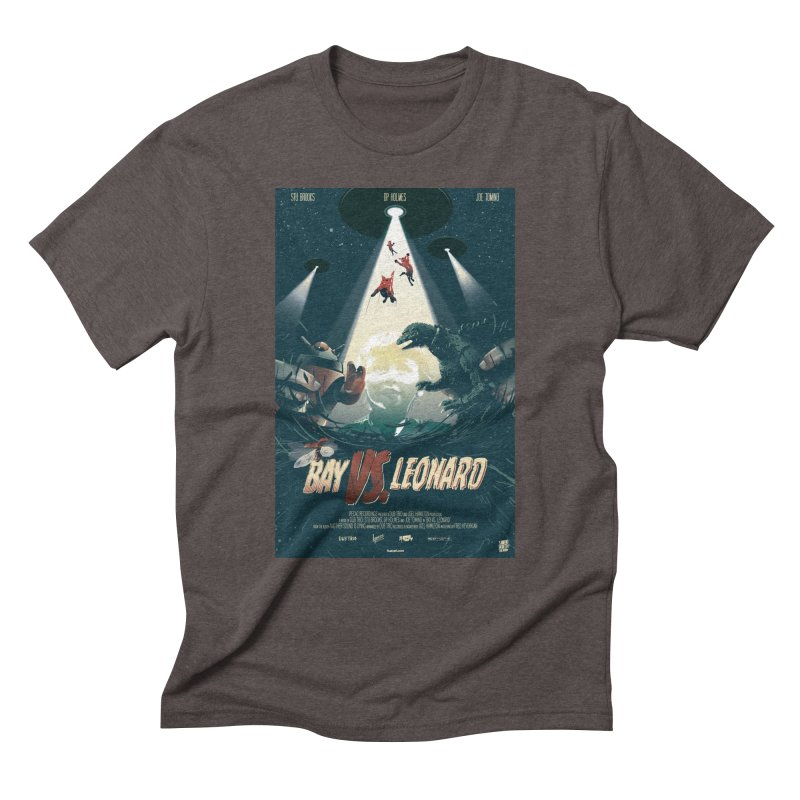 Bay VS Leonard Men's Triblend T-Shirt by Huevart's Artist Shop