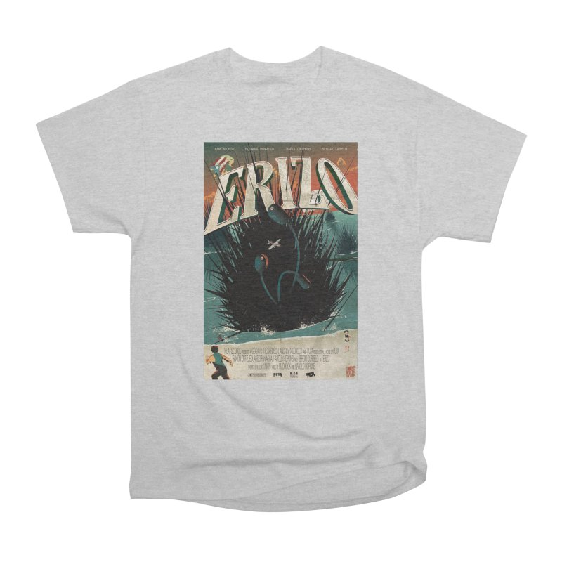 Erizo Men's Heavyweight T-Shirt by Huevart's Artist Shop