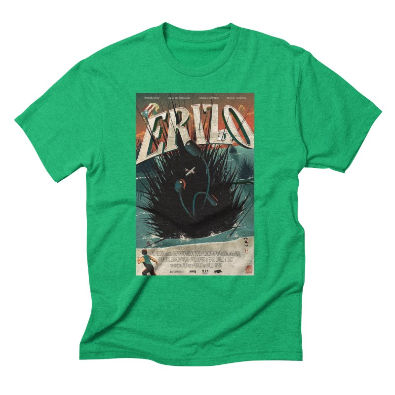Erizo Men's Triblend T-Shirt by Huevart's Artist Shop