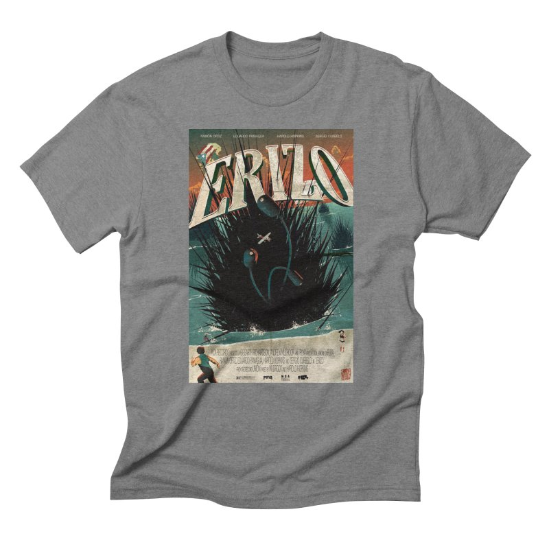Erizo Men's Triblend T-Shirt by Huevart's Artist Shop