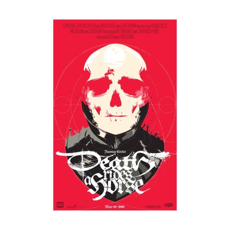 Death Rides a Horse Men's T-Shirt by Huevart's Artist Shop