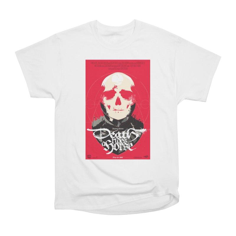 Death Rides a Horse Men's Heavyweight T-Shirt by Huevart's Artist Shop