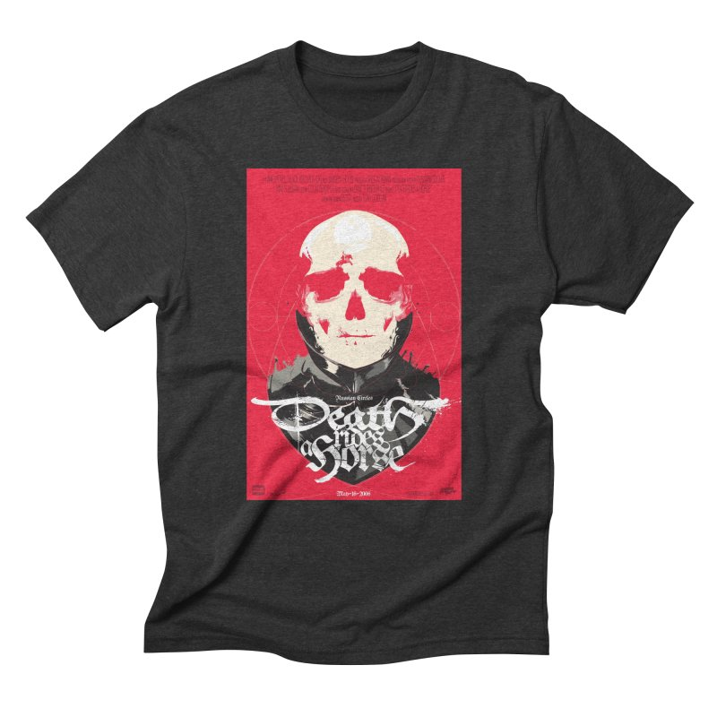 Death Rides a Horse Men's Triblend T-Shirt by Huevart's Artist Shop
