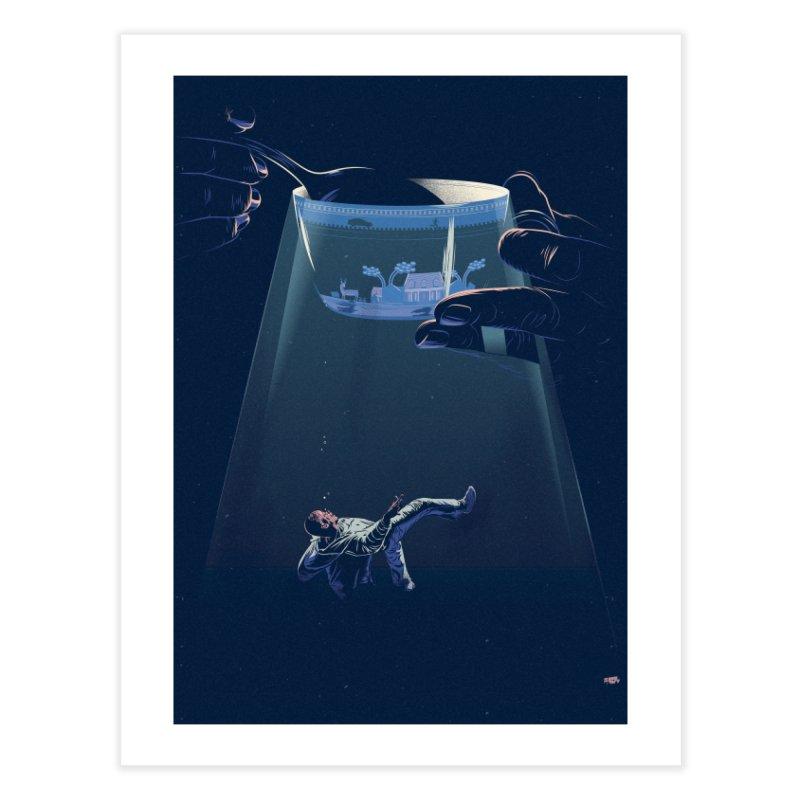 Sinking Home Fine Art Print by Huevart's Artist Shop