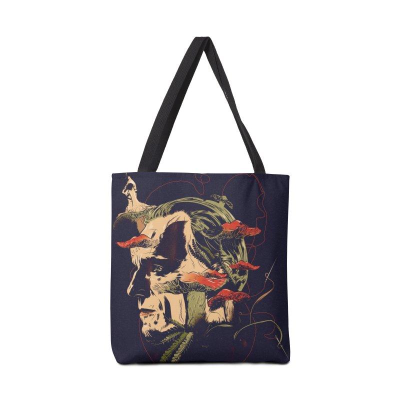 Amanita Thread Accessories Bag by Huevart's Artist Shop