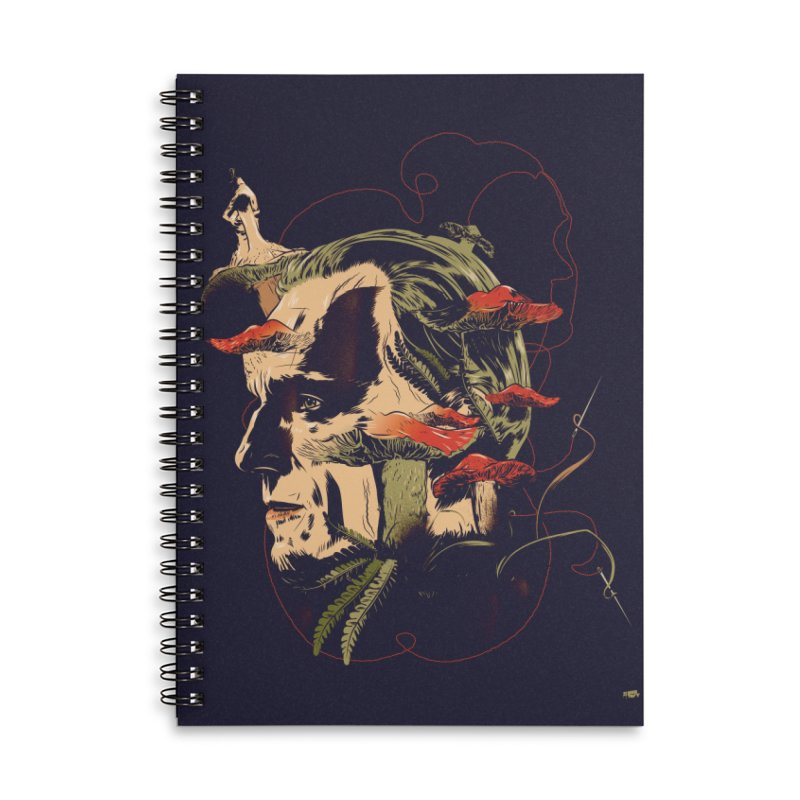 Amanita Thread Accessories Notebook by Huevart's Artist Shop