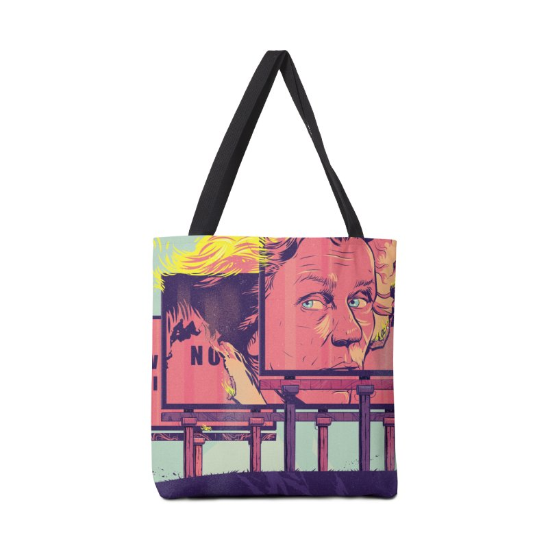 On Fire Accessories Bag by Huevart's Artist Shop