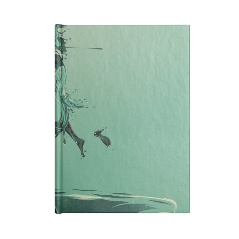 Drop Accessories Notebook by Huevart's Artist Shop