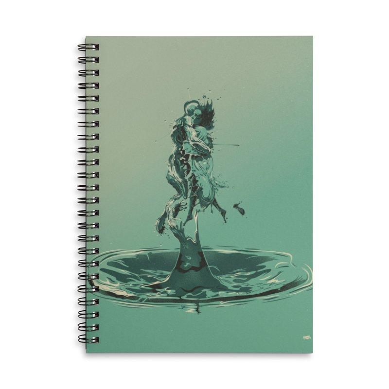 Drop Accessories Notebook by Huevart's Artist Shop