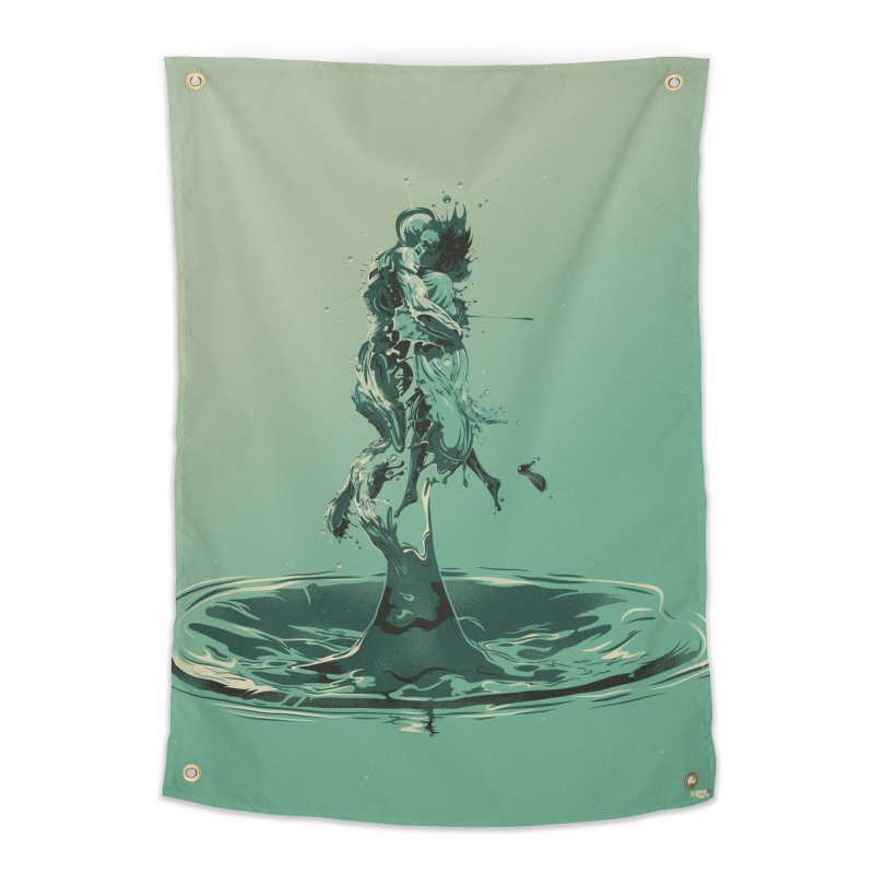 Drop Home Tapestry by Huevart's Artist Shop
