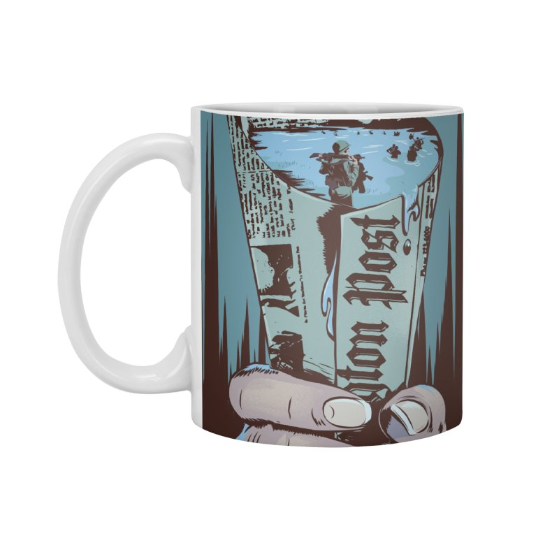 Leak Accessories Standard Mug by Huevart's Artist Shop