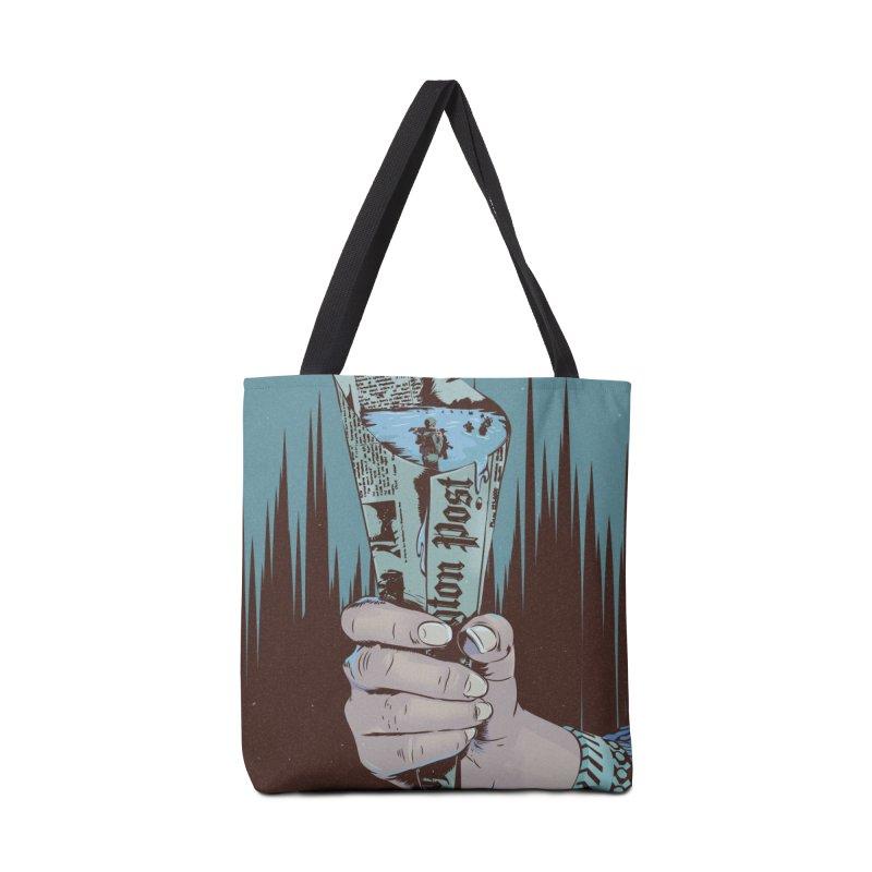 Leak Accessories Tote Bag Bag by Huevart's Artist Shop