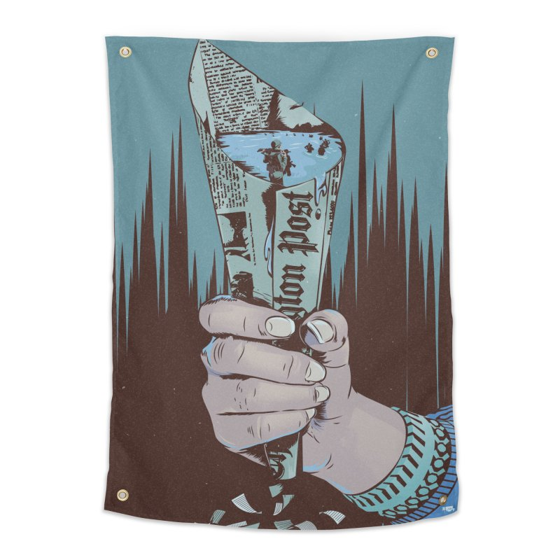 Leak Home Tapestry by Huevart's Artist Shop