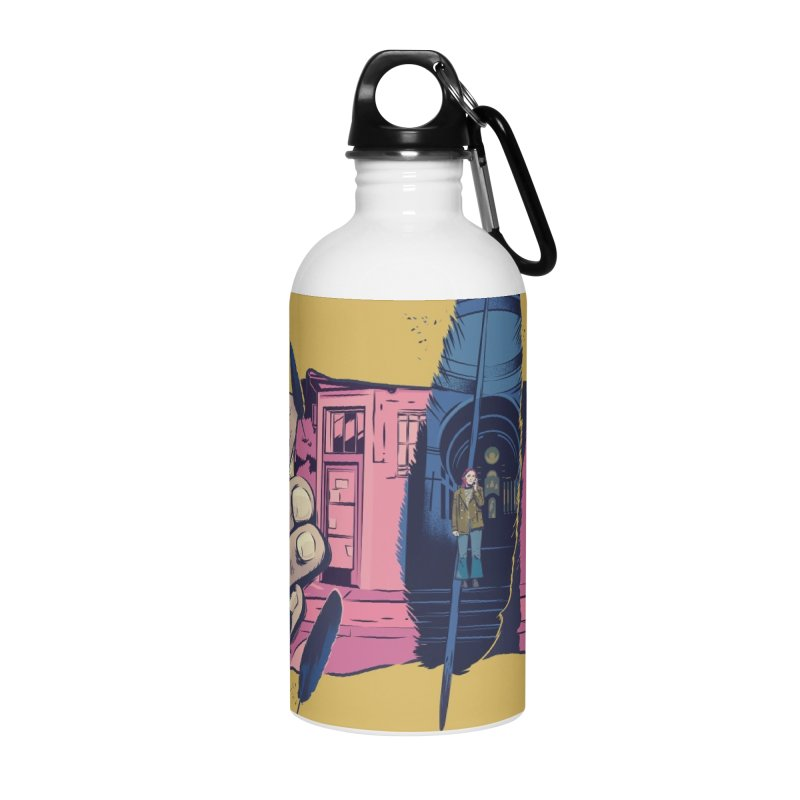 Feathers Accessories Water Bottle by Huevart's Artist Shop