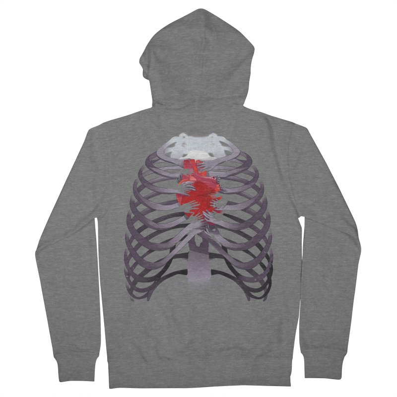You Lied Men's French Terry Zip-Up Hoody by Huevart's Artist Shop