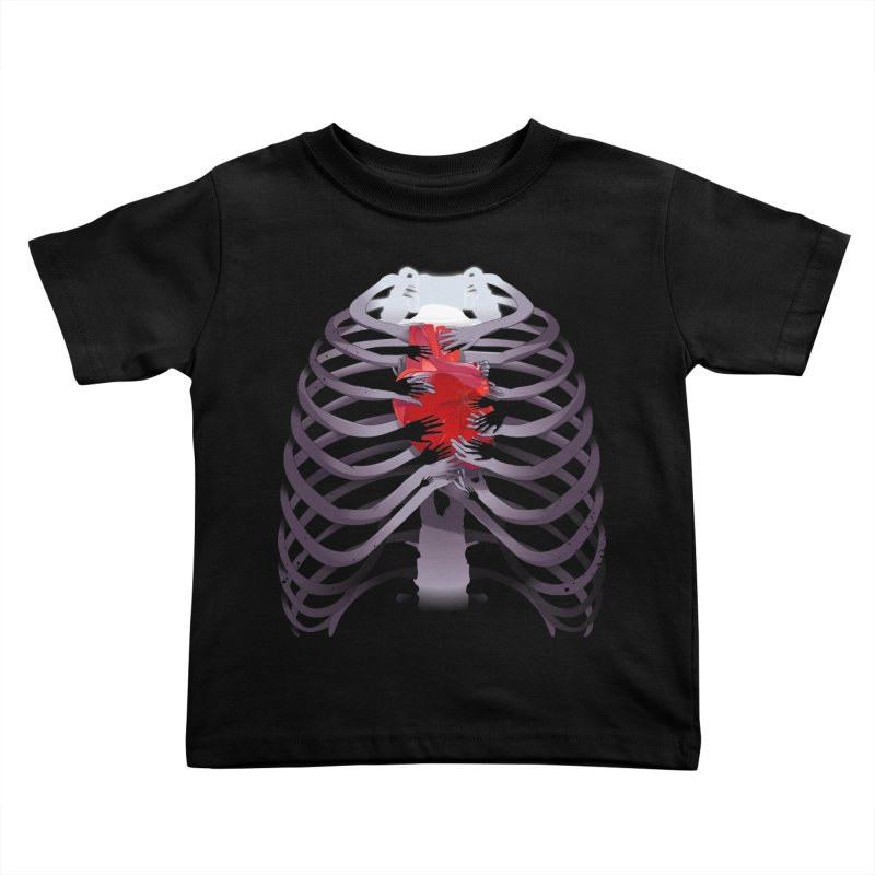 You Lied Kids Toddler T-Shirt by Huevart's Artist Shop