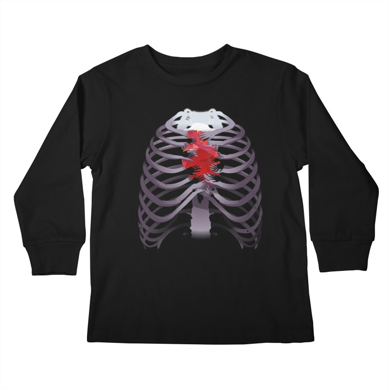 You Lied Kids Longsleeve T-Shirt by Huevart's Artist Shop