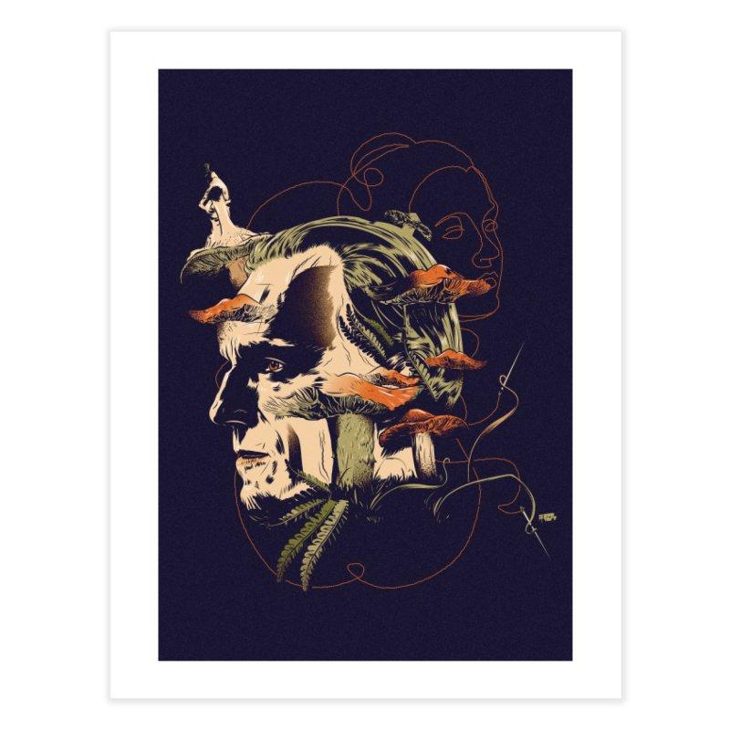 Phantom Thead (print) Home Fine Art Print by Huevart's Artist Shop