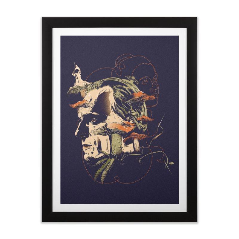 Phantom Thead (print) Home Framed Fine Art Print by Huevart's Artist Shop