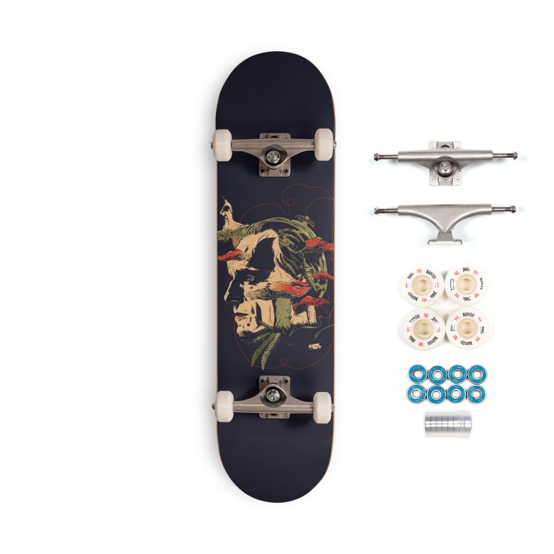 Phantom Thead (print) Accessories Complete - Premium Skateboard by Huevart's Artist Shop